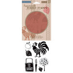 Hero Arts - BasicGrey - Picadilly Collection - Clings - Repositionable Rubber Stamps - Farmers Market