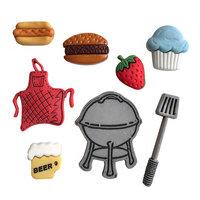 Buttons Galore - Embellishments - Button Theme Packs - Backyard BBQ
