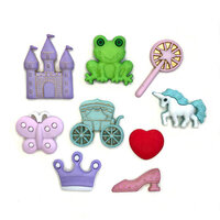 Buttons Galore - Embellishments - Button Theme Packs - Happily Ever After