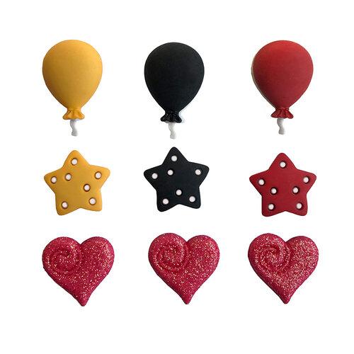 Buttons Galore - Embellishments - Button Theme Packs - Dream It