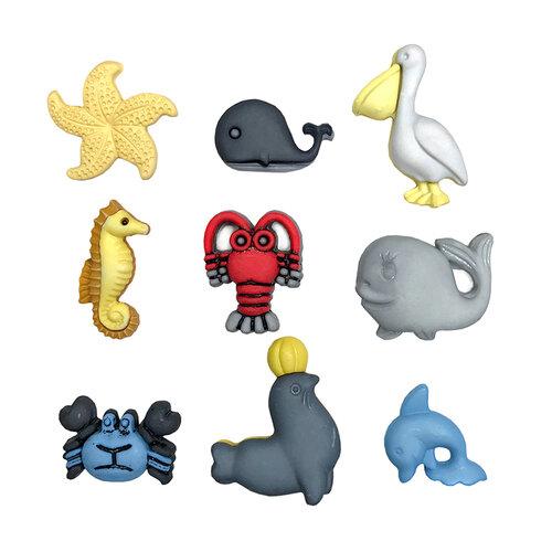 Buttons Galore - Embellishments - Button Theme Packs - Sea Life