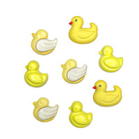 Buttons Galore - Embellishments - Button Theme Packs - Duckies