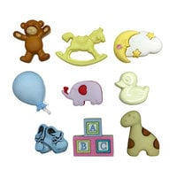Buttons Galore - Embellishments - Button Theme Packs - New Born Friends