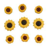 Buttons Galore - Embellishments - Sunflowers