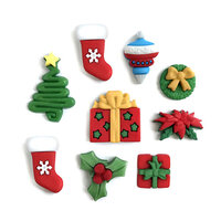 Buttons Galore - Christmas - Embellishments - Button Theme Packs - Hung With Care
