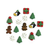 Buttons Galore - Christmas - Embellishments - Button Theme Packs - Christmas Minis
