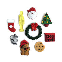 Buttons Galore - Christmas - Embellishments - Button Theme Packs - The Night Before