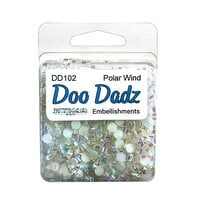 Buttons Galore - Doo Dads Collection - Christmas - Embellishments - Polar Wind