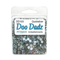 Buttons Galore - Doo Dads Collection - Embellishments - Quicksilver