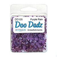 Buttons Galore - Doo Dads Collection - Embellishments - Purple Rain