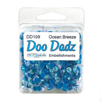 Buttons Galore - Doo Dads Collection - Embellishments - Ocean Breeze
