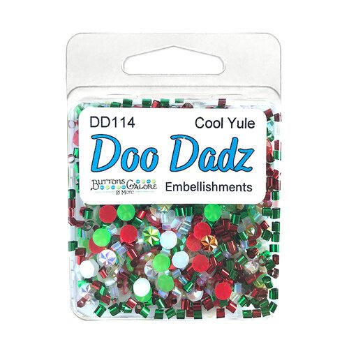 Buttons Galore - Christmas - Doo Dads Collection - Embellishments - Cool Yule