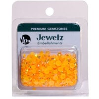 Buttons Galore and More - Jewelz Collection - Jewel Embellishments - Orange Aurora Borealis