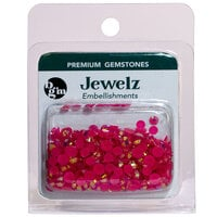 Buttons Galore and More - Jewelz Collection - Jewel Embellishments - Fuchsia Aurora Borealis
