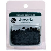Buttons Galore and More - Jewelz Collection - Jewel Embellishments - Jet