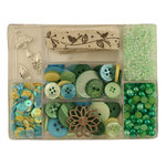 28 Lilac Lane - Craft Embellishment Kit - New Leaf