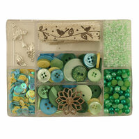 28 Lilac Lane - Craft Embellishment Kit - New Leaf