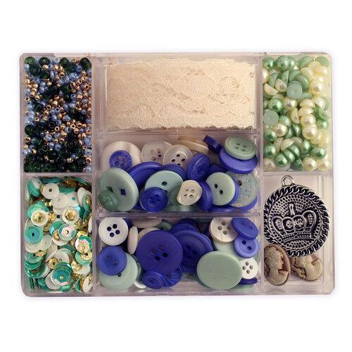 28 Lilac Lane - Craft Embellishment Kit - Tea Time