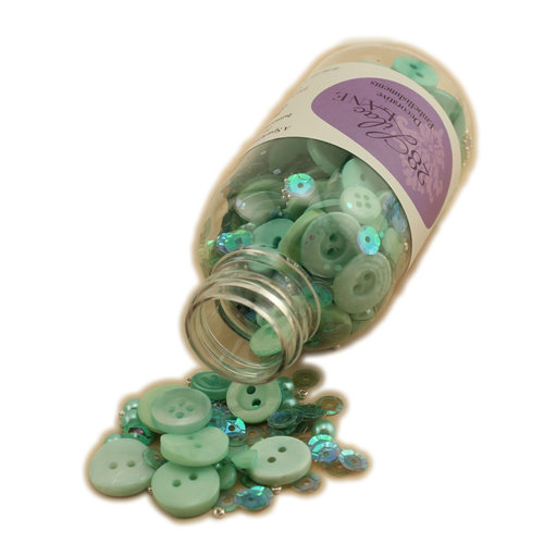 28 Lilac Lane - Decorative Embellishment Bottle - Minty Fresh