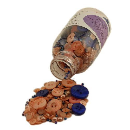 28 Lilac Lane - Decorative Embellishment Bottle - Just Peachy