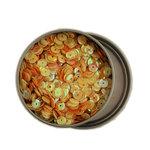 28 Lilac Lane - Sequin Tin - Yellow and Orange