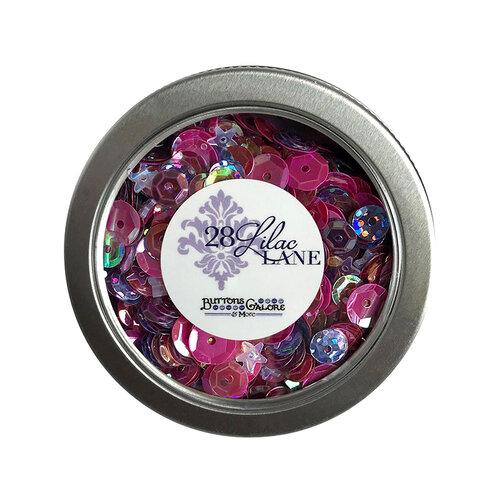 28 Lilac Lane - Sequin Tin - Mixed Berry
