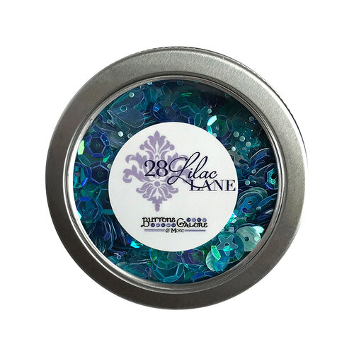 28 Lilac Lane - Sequin Tin - Mermaid's Tale