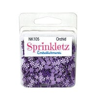 Buttons Galore - Sprinkletz Collection - Embellishments - Orchid