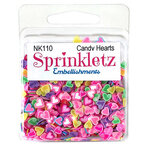 Buttons Galore - Sprinkletz Collection - Embellishments - Candy Hearts