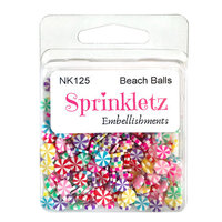 Buttons Galore - Sprinkletz Collection - Beach Balls