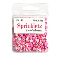 Buttons Galore - Sprinkletz Collection - Pink It Up