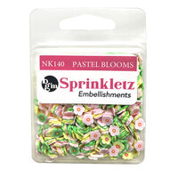 Buttons Galore - Sprinkletz Collection - Pastel Blooms