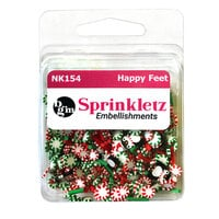 Buttons Galore - Sprinkletz Collection - Christmas - Happy Feet