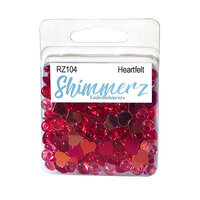 Buttons Galore - Shimmerz Collection - Embellishments - Heart Felt