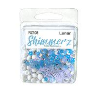 Buttons Galore - Shimmerz Collection - Embellishments - Lunar
