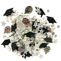 Buttons Galore - Sparkletz Collection - Embellishments - Commencement