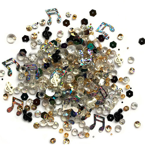 Buttons Galore - Sparkletz Collection - Embellishments - Concerto