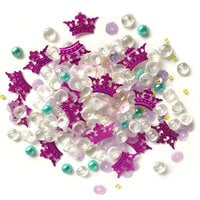 Buttons Galore - Sparkletz Collection - Embellishments - Princess Dreams