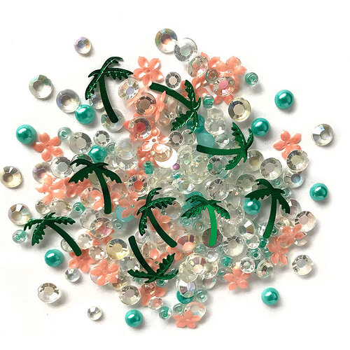 Buttons Galore - Sparkletz Collection - Embellishments - Paradise