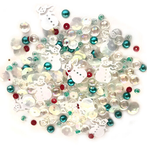 Buttons Galore - Christmas - Sparkletz Collection - Embellishments - Frosty Friends
