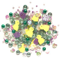 Buttons Galore - Sparkletz Collection - Embellishments - Happy Easter