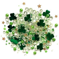 Buttons Galore - Sparkletz Collection - Embellishments - Lucky Charmz