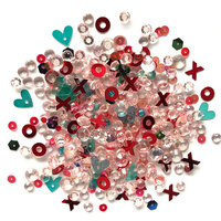 Buttons Galore - Sparkletz Collection - Embellishments - Hugs & Kisses