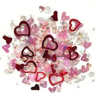 Buttons Galore - Sparkletz Collection - Embellishments - Sweethearts