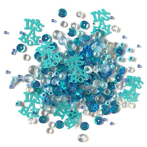 Buttons Galore - Sparkletz Collection - Embellishments - Baby Boy