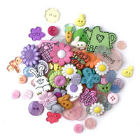 Buttons Galore - Embellishments - Value Pack - Spring Buttons