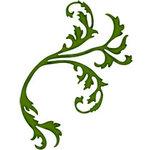 Bosskut - Personal Die Cutting Machine - Die Cutting Template - Leaf Flourish