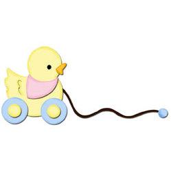 Bosskut - Personal Die Cutting Machine - Die Cutting Template - Duck Pull Toy