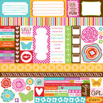 Bella Blvd - Flirty Collection - 12 x 12 Paper - Bits a Bella, CLEARANCE