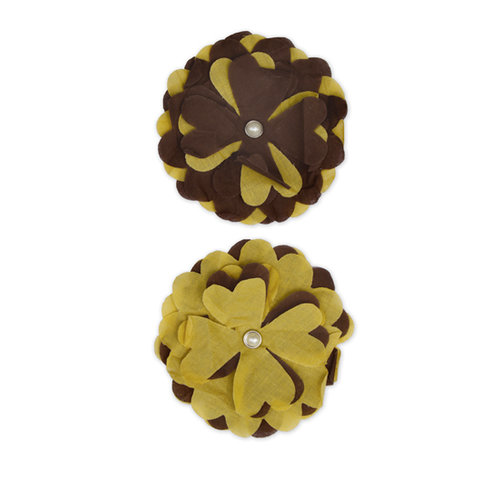 Bella Blvd - Blooms a Bella Collection - Cotton Flower Embellishments - Sole